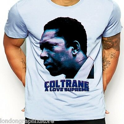 ec7a7e280d22 Details about jazz T shirt, John Coltrane, A Love Supreme, Miles, Black  History, Cotton Hoodie