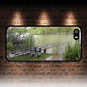 Détails sur Pêche à la carpe Carp rods 2 coque Téléphone iphone 4 4 s 5 5 S SE 5 C 6 6 S 7 8 Plus X- afficher le titre d'origine