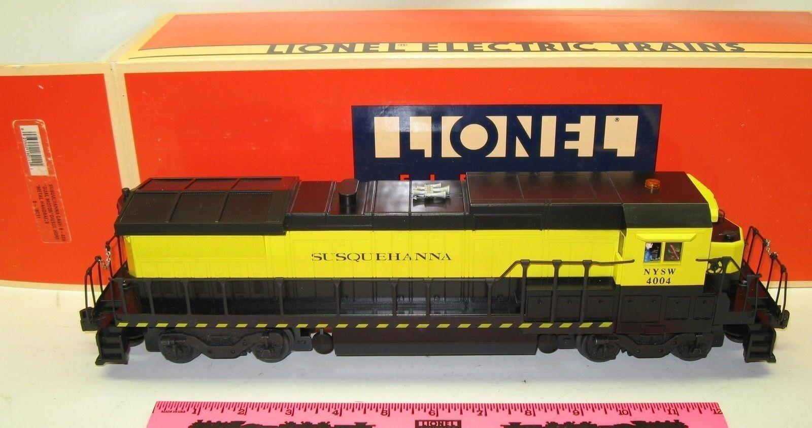 Lionel 6-18211 Susquehanna dash 8-40B diesel Locomotive