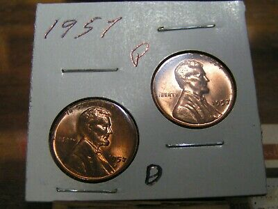 1953 P,D,S WHEAT PENNIES LINCOLN CENTS SET $3.50 SHIPPING ON 1 TO 100 COINS PDS