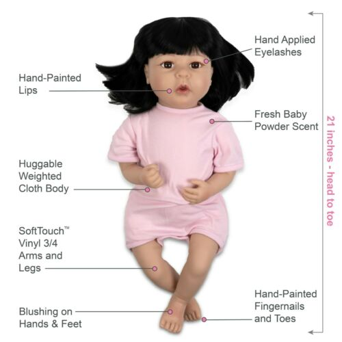 Paradise Galleries Realistic Toddler Doll Kiko /& Suki in SoftTouch Vinyl