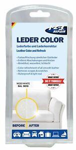 123Repair Lederfarbe Weiß matt, Schuhfarbe, Leder färben, Einziehfarbe, 57 ml