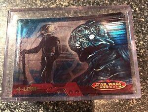 Star Wars Evolution Evolution /'A/' Chase Card 12A Yoda