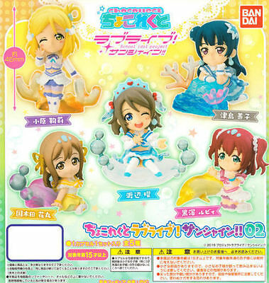 NEW! Chocollect Love Live Sunshine 02 mini figure 5 set from Japan F//S