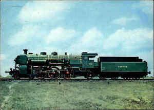 Eisenbahn-Motiv-AK-Schnellzug-Dampflok-Lokomotive-der-Bayerischen-Staatsbahn