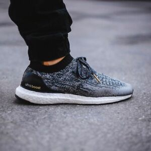 Image is loading Adidas-Ultra-Boost-Uncaged-Black-White-BB3900-new- fd96b7e64