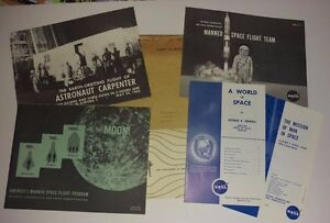 Large group of NASA Pamphlets/booklets & Printed Materials 1963 - Awesome Group!