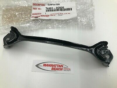 GENUINE TOYOTA 08-16 TUNDRA SEQUOIA OEM NEW BATTERY HOLD DOWN CLAMP 74481-0C030