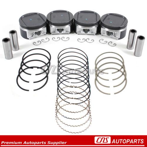 Pistons /& High Performance Rings Fits 02-05 EJ205 EJ20 Subaru Impreza WRX Turbo
