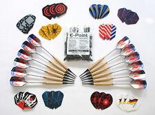 12 Dartpfeile mit 30 Flys und 100 Softspitzen von Empire®Dart--Top Qualität