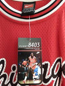 4b633847210 Vintage Michael Jordan Nike 1984 Flight 8403 Bulls Jersey (3XL, NWT ...