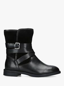 BNIB-Carvela-Kurt-Geiger-Black-Saturn-Ankle-Boots-Shoes-Size-5-38-RRP-169