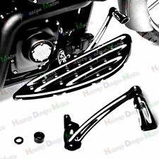Deep Cut Brake Arm Lever W/ Peg Pedal For Harley Electra Street Tri Glide 14UP