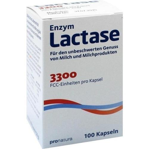 LACTASE 3300 FCC 200 mg Kapseln 100St Kapseln PZN 7354161
