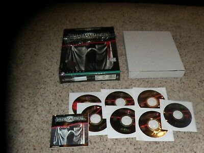 100% Waar Roberta Williams' Phantasmagoria (pc, 1998) Game With Big Box Zorgvuldige Verfprocessen