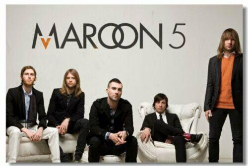 Maroon 5 Adam Levine Art Wall Cloth Poster Print 222