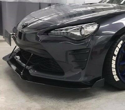 2013-2016 FRS Front splitter v2 Winglet version Rods Included