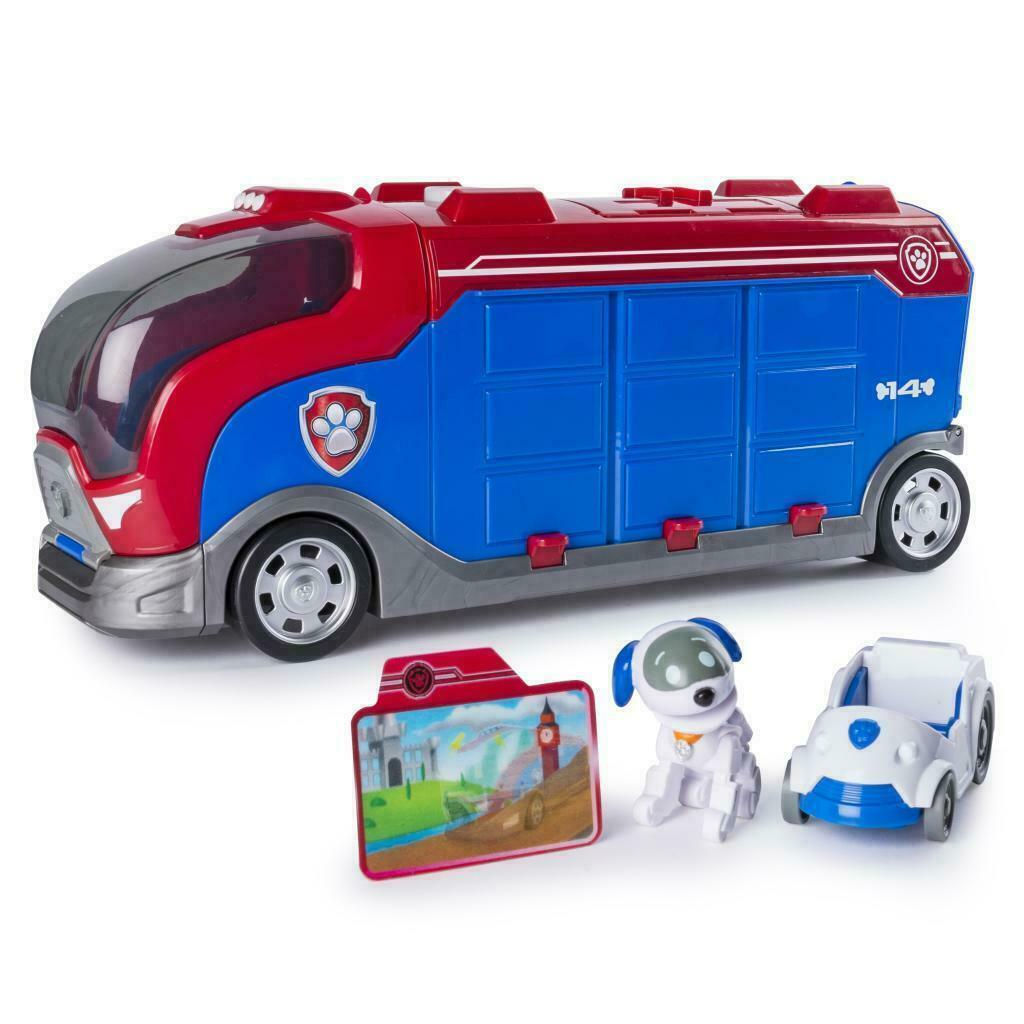 Paw Patrol Mission Paw Pretend Play - Mission Cruiser - Robo Dog and Vehicle
