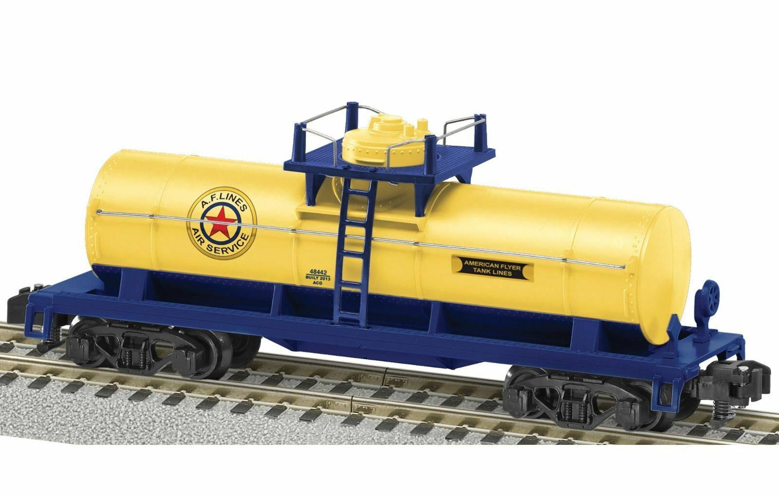 Lionel American Flyer Lines 6-48442  Air Service  Single Dome Tank Car
