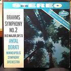ANTAL DORATI brahms symphony no. 2 LP VG+ SR 90171 Mercury Living Stereo US