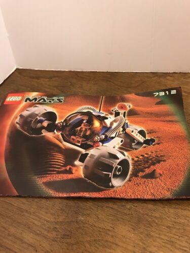 Lego 7312 Life on Mars T3 Trike Complete Set  Minifig Doc No Box