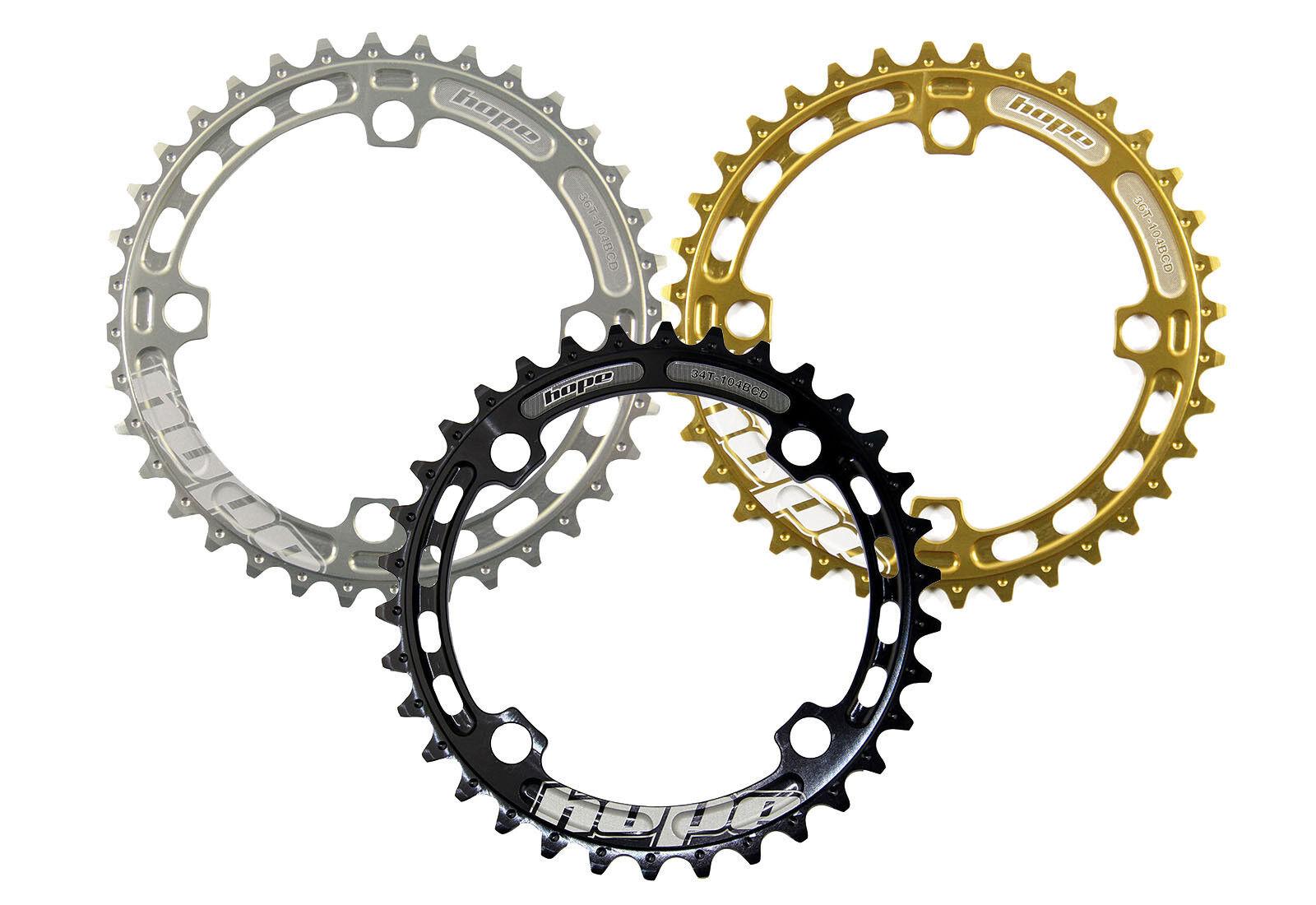 Hope Downhill DH MTB Mountain Bike Single Chainring Chain Ring 32 34 36 38 40 T