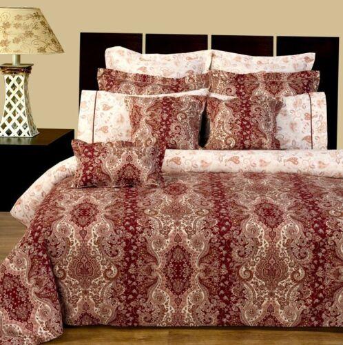 Luxury 11 PC Hampton Reversible Bedding Set Duvet Cover Set Full or Queen Size