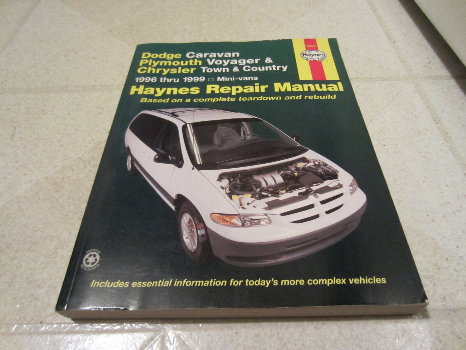 1996 - 2002 Haynes Repair Manual Dodge Caravan Plymouth Voyager CHRYSLER  Town | eBay