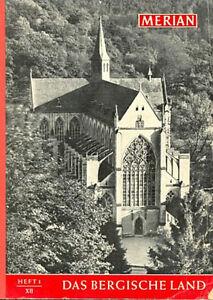 Merian-Heft-1-1959-Das-Bergische-Land-mit-vielen-Historischen-Bildern