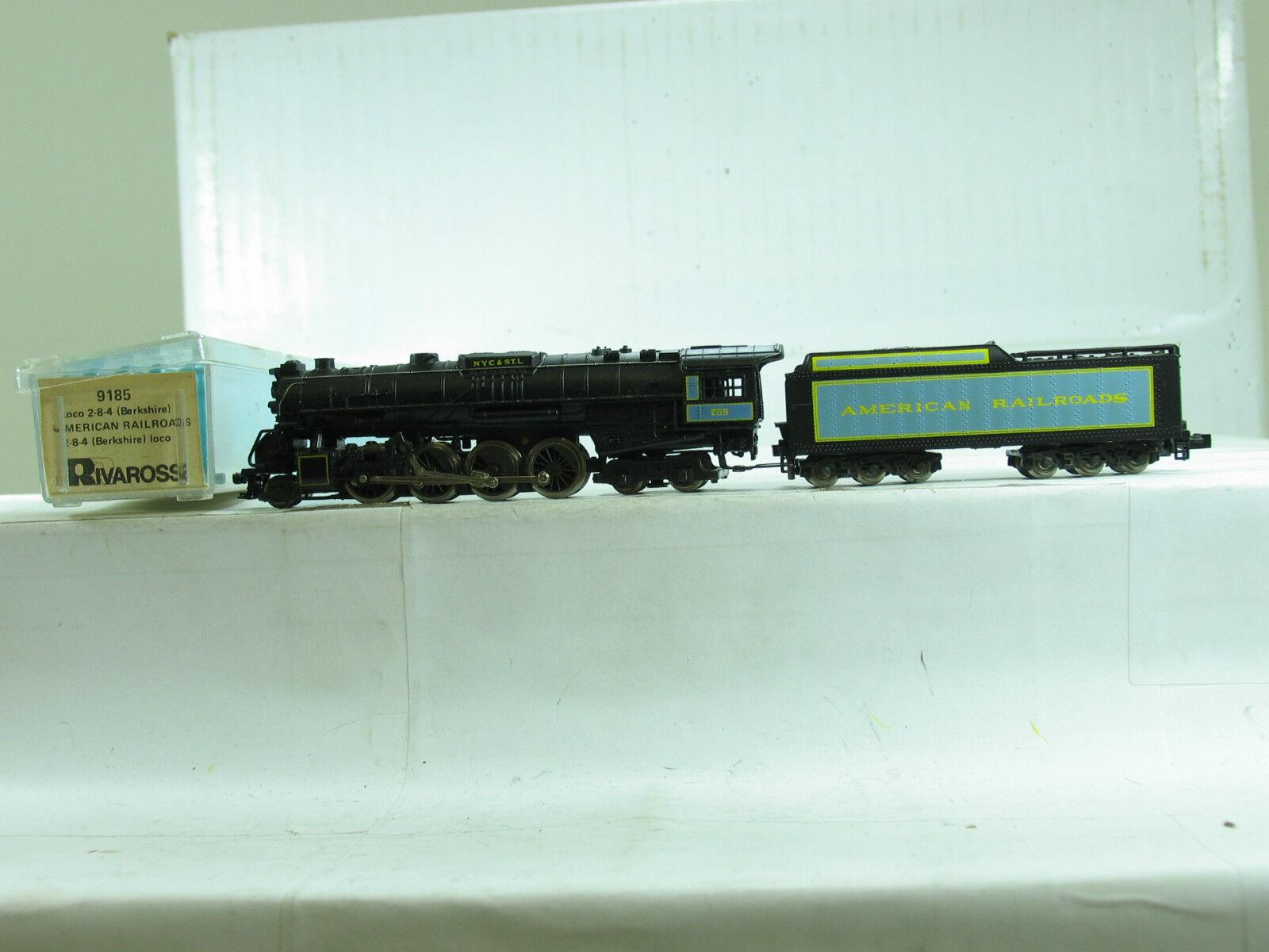 Rivarossi N 9185 Dampflok 2-8-4 der NYC&ST.L American Railroads  B4376