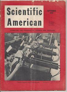 Scientific American Magazine September 1943 WWII Machine Gunners