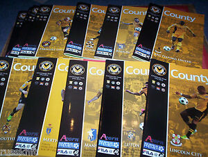2012-13-NEWPORT-COUNTY-HOME-PROGRAMMES-SELECT-FROM