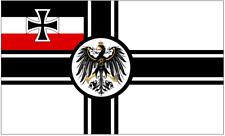 Fahne Flagge Flag - Deutsche Reichskriegsflagge Kaiserliche Marine 150 x 90 cm