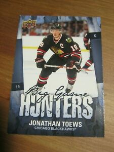 2008-09-Upper-Deck-Series-2-Big-Game-Hunters-BGH-TO-Jonathan-Toews-Chicago-ZH0