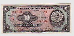 Messico-Mexico-10-pesos-08-11-1961-FDS-UNC-Pick-58i-lotto-19