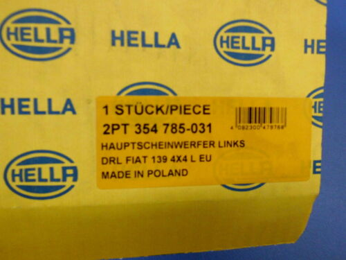 312 1.3 D Multijet 4x4 0.9 4x4 Tagfahrleuchte  L Fiat Panda 2PT 354 785-031