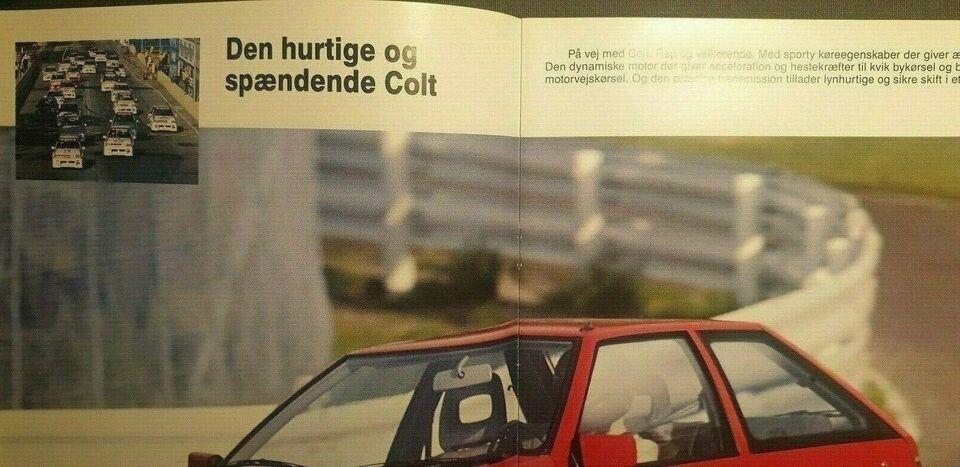 Brochure, Mitsubishi Colt