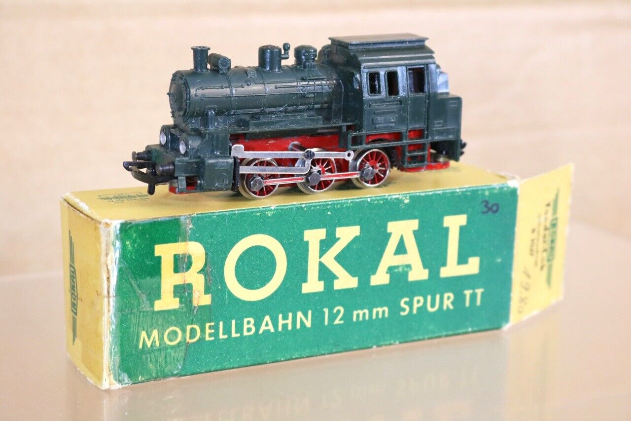 ROKAL B1027 TT GAUGE TRIANG DB GREEN 0-6-0 CLASS BR 89 002 LOCOMOTIVE BOXED nr