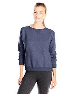 Hanes-Womens-Activewear-V-Notch-Pullover-Fleece-Sweatshirt-Select-SZ-Color