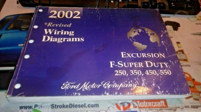 2002 Ford Truck F250 350 450 550 Factory Wiring Diagrams