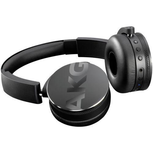 AKG Y50BT On-ear Bluetooth Headphones - Black (Y50BTBLK)