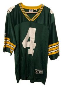 Vintage-Starter-Brett-Favre-Green-Bay-Packers-Jersey-4-Size-Large-48-Authentic