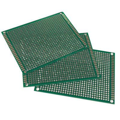 10X Double Side 5x7cm PCB Strip board Printed Circuit Prototype Track LW