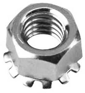 Stainless Steel 10-32 K Kep Lock Nut pack of 20