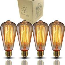 Vintage Light BulbsBravelight Filament Light BulbsEdison bulbs ST64 E26 40W