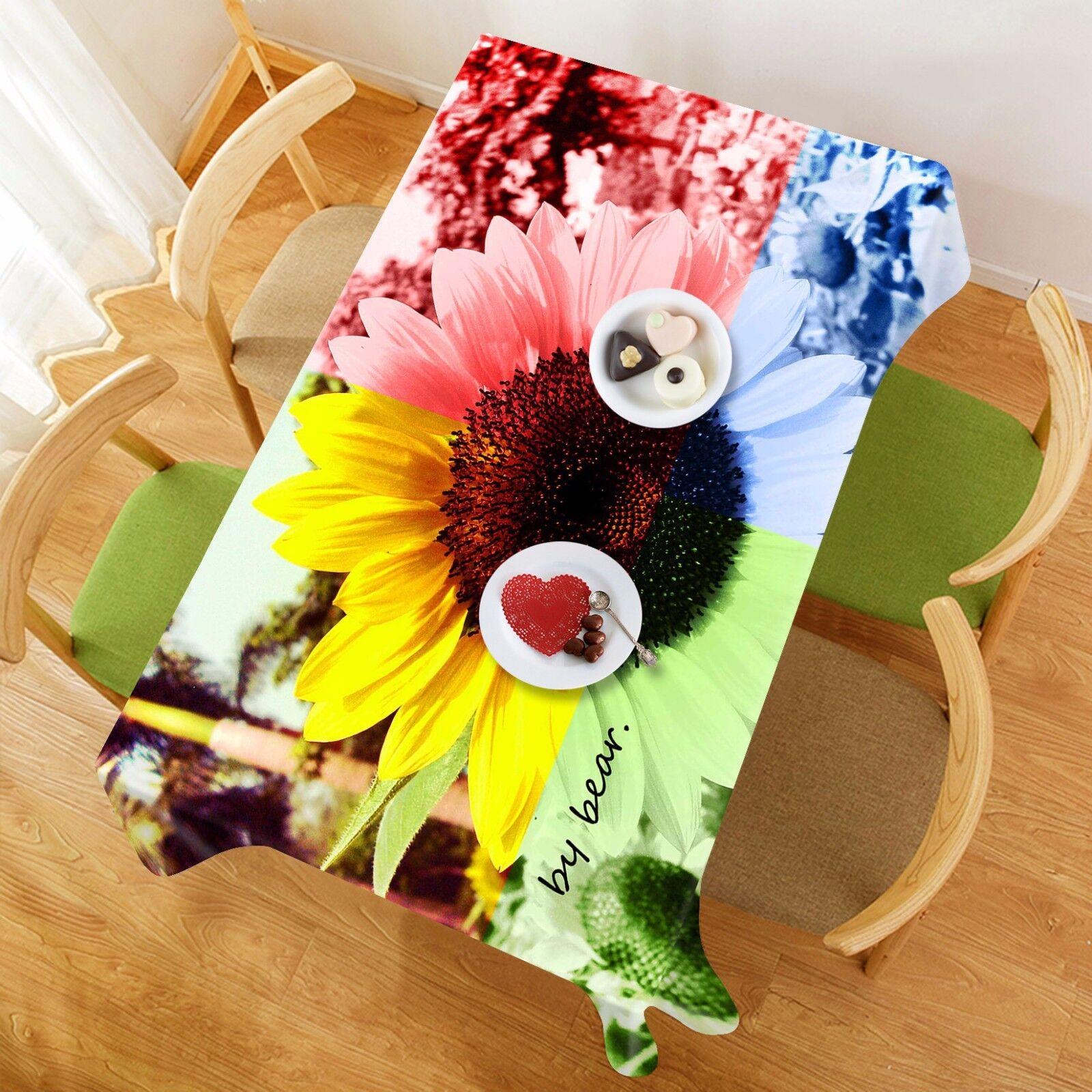 3D Colour 4228 Tablecloth Table Cover Cloth Birthday Party Event AJ WALLPAPER AU
