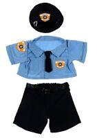 Teddy Bear Police Uniform Clothes Fit 14-18 Build-a-bear