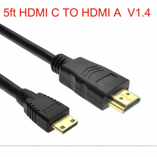 Panasonic HC-V550 Camcorder AV//HDMI Cable 3 Foot High Definition Mini HDMI Type C to HDMI Type A Cable