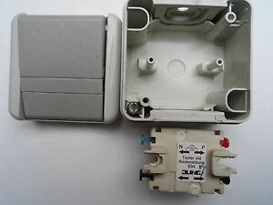 1 Stk JUNG WG SchalterTaster Schließer mit Rückmeldung 1polig