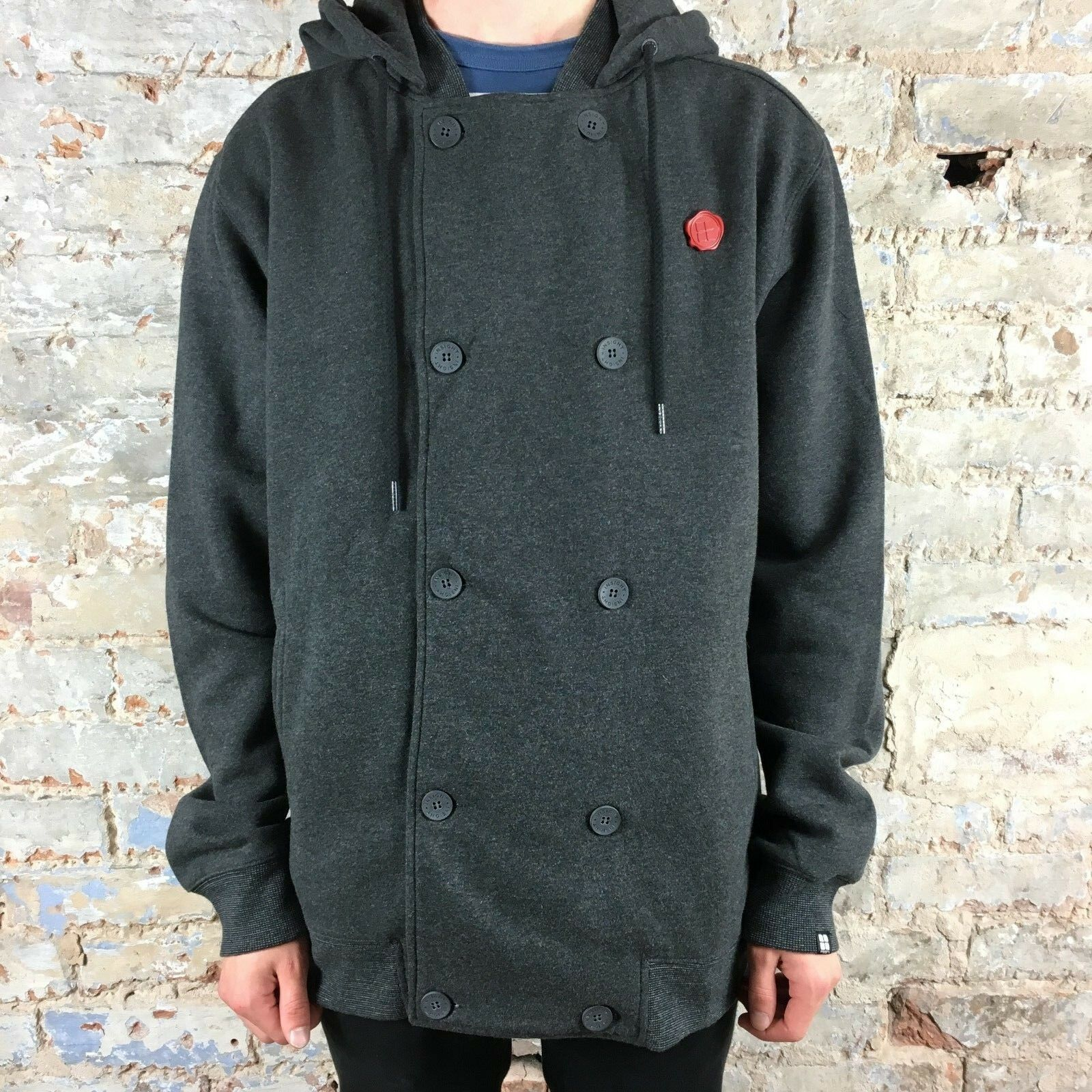Insight Double Breasted Unstitched Hoodie Brand New - Size  M,L